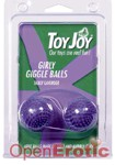 Girly Giggle Balls - Tickly Lavender (Scala - ToyJoy)
