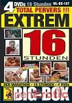 Big-Box - Extrem Total Pervers - 16 Stunden (Muschi Movie - 4 DVD's)