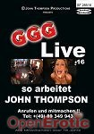 Live 16 - so arbeitet John Thompson (GGG - John Thompson)