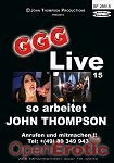 Live 15 - so arbeitet John Thompson (GGG - John Thompson)