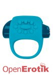 Halo Vibrating Ring - Blue (Key)