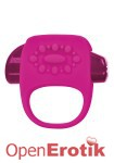Halo Vibrating Ring - Raspberry Pink (Key)