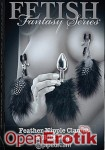 Feather Nipple Clamps and Anal Plug (Pipedream - Fetish Fantasy Series)
