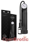 Comfort Pump with Advanced PSI Gauge - Black (Shots Toys - Pumps)