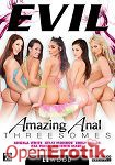 Amazing Anal Threesomes - 2 Discs (The Evil Empire - Evil Angel - LeWood)
